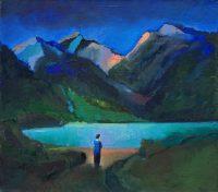 Jezioro w górach I