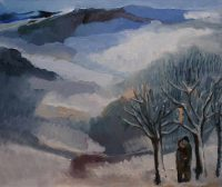 Winter diptych, side l