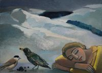 Sleeping with birds